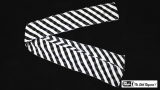 Production Streamer Zebra 6 inch x 18 feet (Black and White)