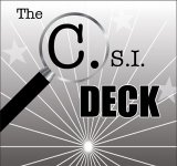 C.S.I. Deck-Bicycle Poker Size