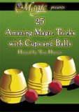 25 Amazing Trick with Cups and Balls - DVD
