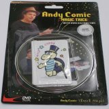 Wild Cards - Andy Comic Magic Trick with DVD