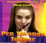 Pen Through Tongue Trick
