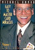 Easy to Master Card Miracles vol 5 DVD