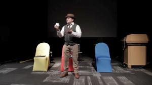 Vortex Magic Presents Ultimate Chair Test (Gimmicks and Online Instructions) by Paul Romhany