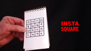 Insta Square (Gimmicks and Online Instructions) by Martin Lewis