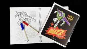 Magic Coloring Book (Toy Story 4) by JL Magic