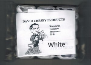 Mouth Coil 25 Ft by Cresey (White)