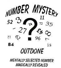 Number Mystery Outdone
