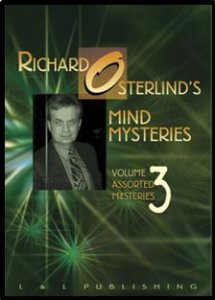 Richard Osterlind's Mind Mysteries #3 DVD