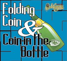 Folding Coin/Coin in Bottle - Quarter