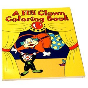 Clown Magic Coloring Book